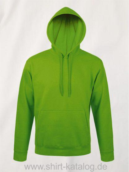 25845-Sols-Unisex-Hooded-Sweat-Shirt-Snake-lime