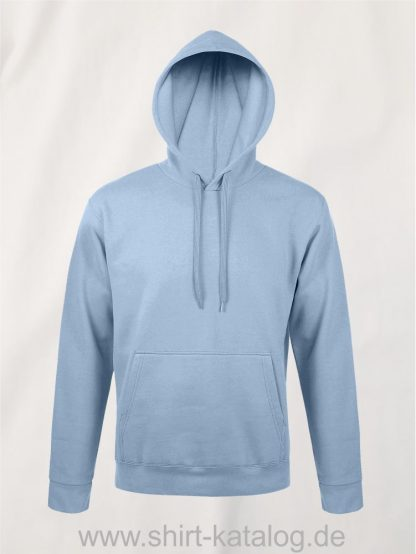 25845-Sols-Unisex-Hooded-Sweat-Shirt-Snake-sky-blue