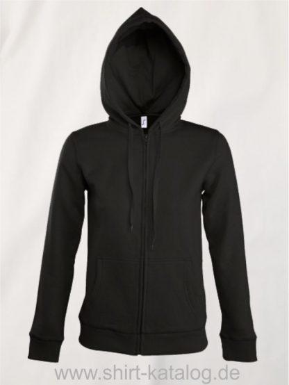 25848-Women-Hooded-Zipped-Jacket-Seven-black