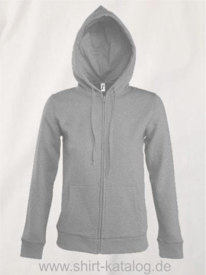 25848-Women-Hooded-Zipped-Jacket-Seven-grey-melange