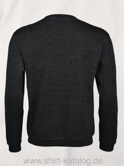 25906-Sols-Sweatshirt-spider-Charcoal-melange-back-view