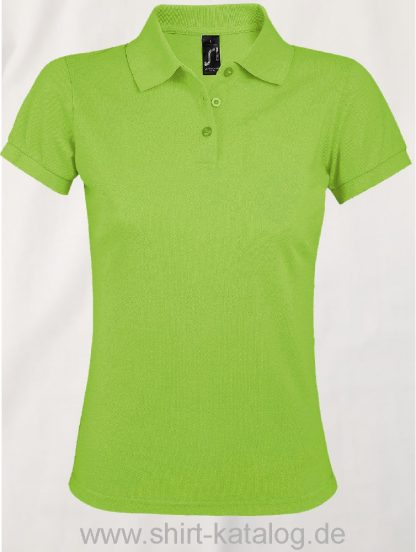 25944-Sols-Women-Polo-Shirt-Prime-Apple-Green