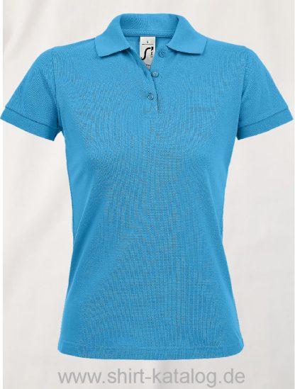 25944-Sols-Women-Polo-Shirt-Prime-Aqua
