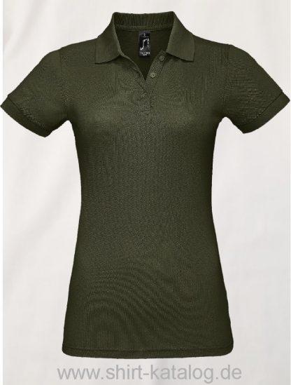 25944-Sols-Women-Polo-Shirt-Prime-Army