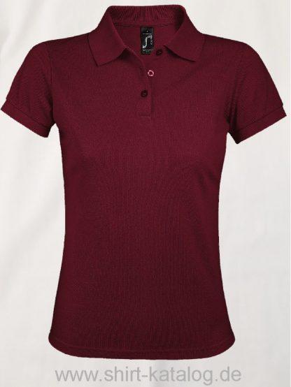 25944-Sols-Women-Polo-Shirt-Prime-Burgundy