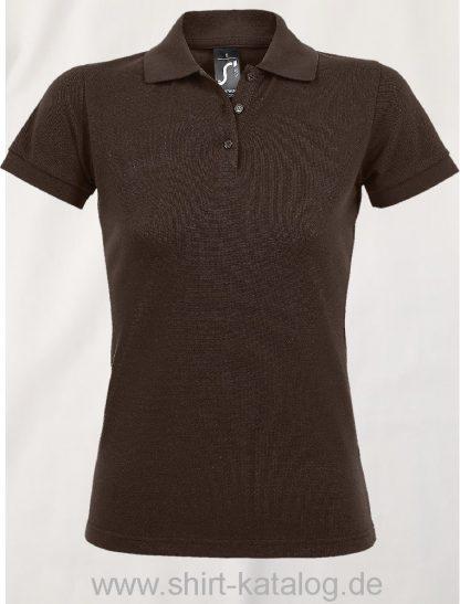 25944-Sols-Women-Polo-Shirt-Prime-Chocolate