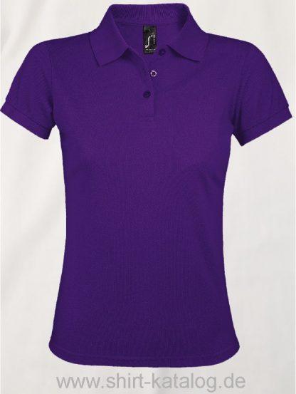 25944-Sols-Women-Polo-Shirt-Prime-Dark-Purple