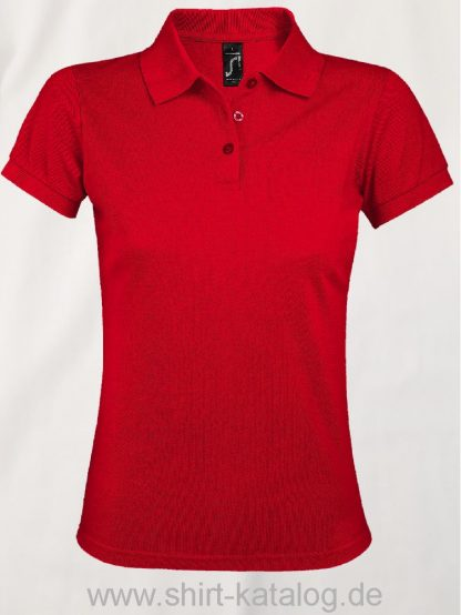 25944-Sols-Women-Polo-Shirt-Prime-Fire-Red