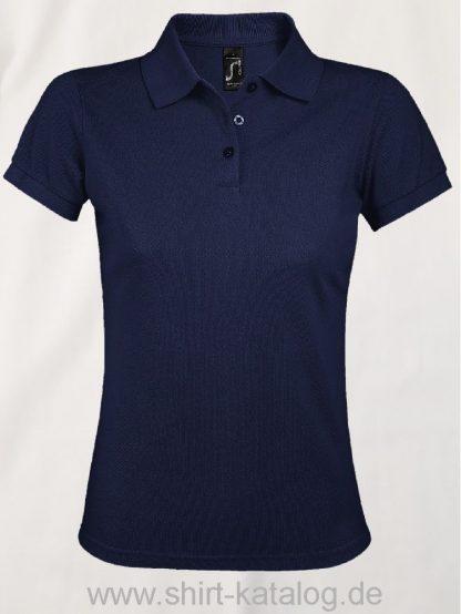 25944-Sols-Women-Polo-Shirt-Prime-French-Navy