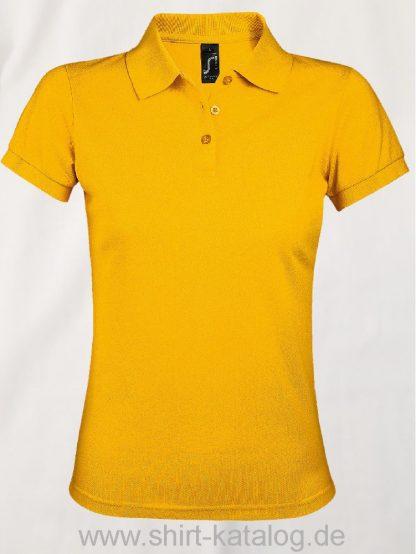 25944-Sols-Women-Polo-Shirt-Prime-Gold