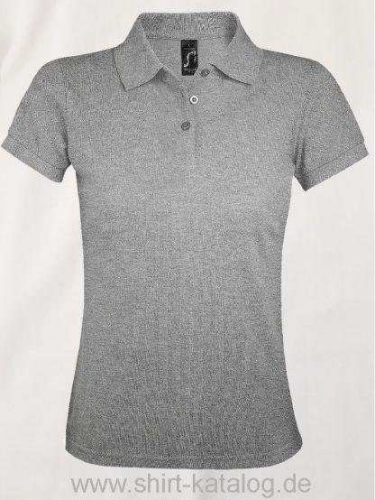 25944-Sols-Women-Polo-Shirt-Prime-Grey-Melange