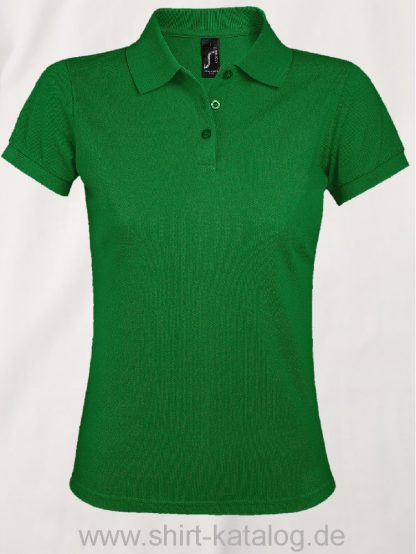 25944-Sols-Women-Polo-Shirt-Prime-Kelly-Green
