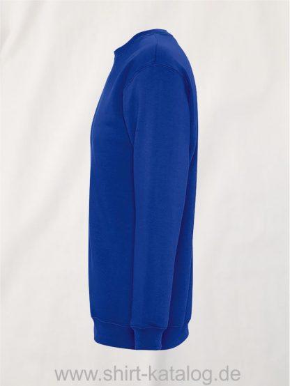 26001-Sols-Unisex-Sweatshirt-Supreme-royal-blue-side-view