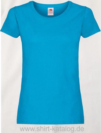 26018-Fruit-Of-The-Loom-Ladies-Original-T-F111-Azure-Blue