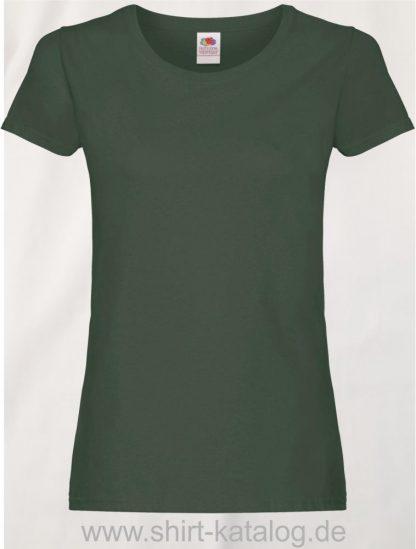 26018-Fruit-Of-The-Loom-Ladies-Original-T-F111-Bottle-Green