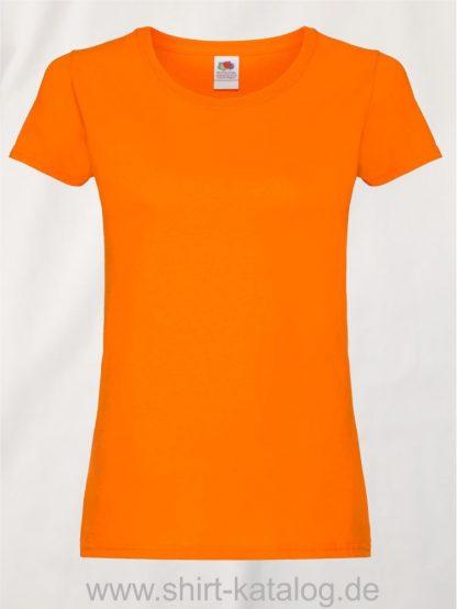 26018-Fruit-Of-The-Loom-Ladies-Original-T-F111-Orange