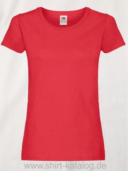 26018-Fruit-Of-The-Loom-Ladies-Original-T-F111-Red