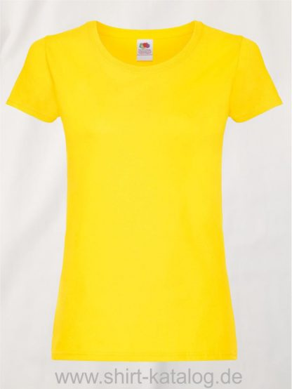 26018-Fruit-Of-The-Loom-Ladies-Original-T-F111-Yellow