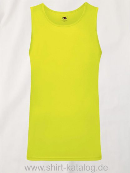 26029-Fruit-of-the-Loom-Performance-Vest-Bright-Yellow