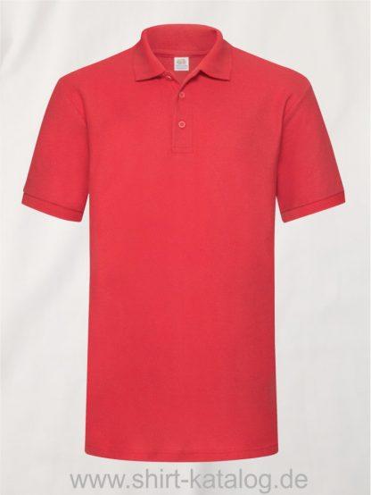 6535-Heavy-Piqué-Polo-Red