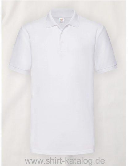 6535-Heavy-Piqué-Polo-White