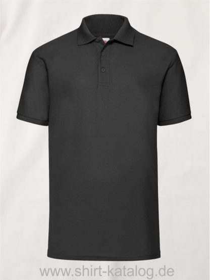 6535-Piqué-Polo-Black