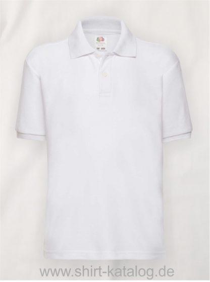 6535-Polo-Kids-White