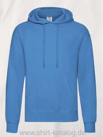 Classic-Hooded-Sweat-Azure-Blue
