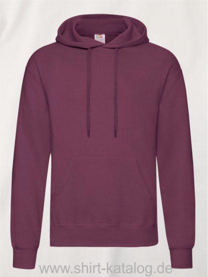 Classic-Hooded-Sweat-Burgundy