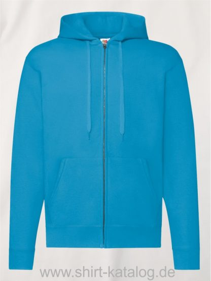 Classic-Hooded-Sweat-Jacket-Azure-Blue