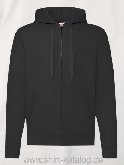 Classic-Hooded-Sweat-Jacket-Black