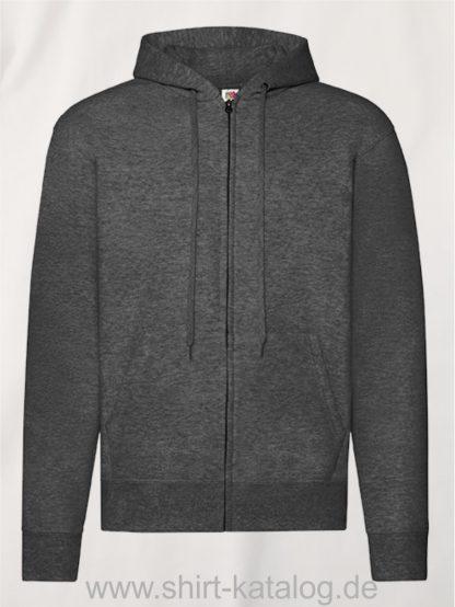 Classic-Hooded-Sweat-Jacket-Dark-Heather-Grey
