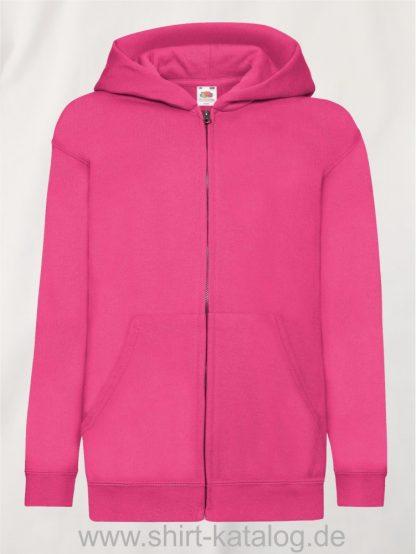 Classic-Hooded-Sweat-Jacket-Kids-Fuchsia