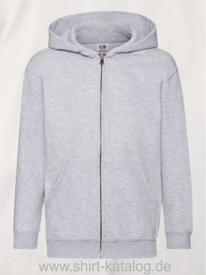 Classic-Hooded-Sweat-Jacket-Kids-Heather-Grey