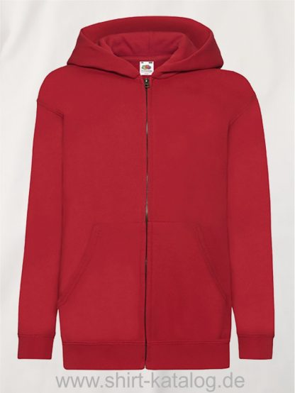 Classic-Hooded-Sweat-Jacket-Kids-Red