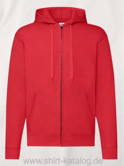 Classic-Hooded-Sweat-Jacket-Red