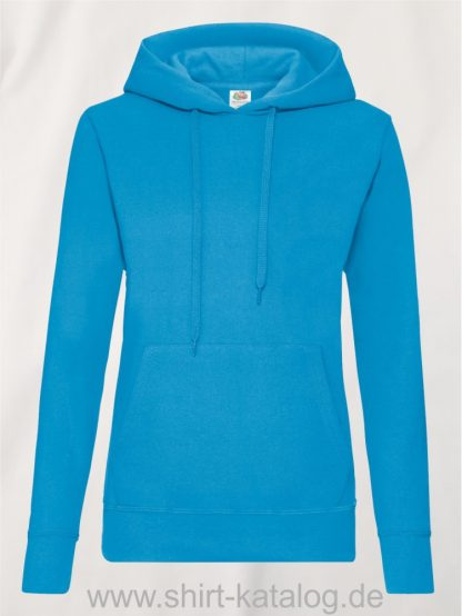 Classic-Hooded-Sweat-Lady-Fit-Azure-Blue