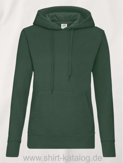 Classic-Hooded-Sweat-Lady-Fit-Bottle-Green