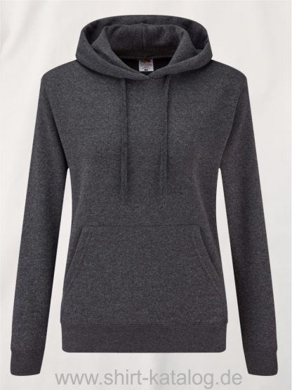 Classic-Hooded-Sweat-Lady-Fit-Dark-Heather-Grey