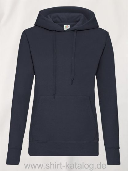 Classic-Hooded-Sweat-Lady-Fit-Deep-Navy