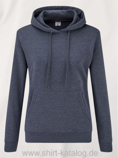 Classic-Hooded-Sweat-Lady-Fit-Heather-Navy