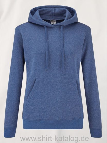 Classic-Hooded-Sweat-Lady-Fit-Heather-Royal