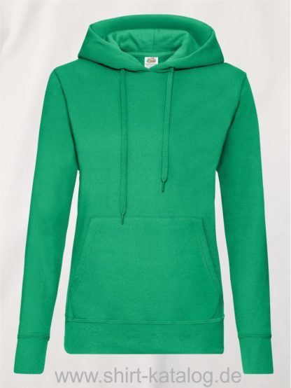 Classic-Hooded-Sweat-Lady-Fit-Kelly-Green