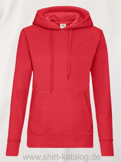 Classic-Hooded-Sweat-Lady-Fit-Red