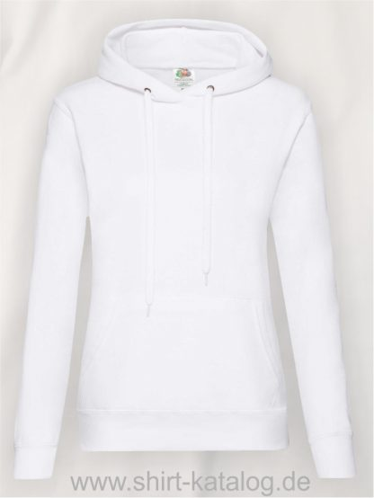 Classic-Hooded-Sweat-Lady-Fit-White