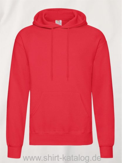 Classic-Hooded-Sweat-Red
