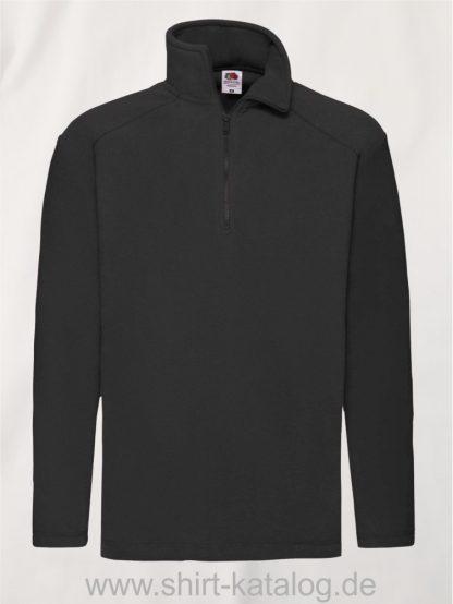 Half-Zip-Fleece-Black