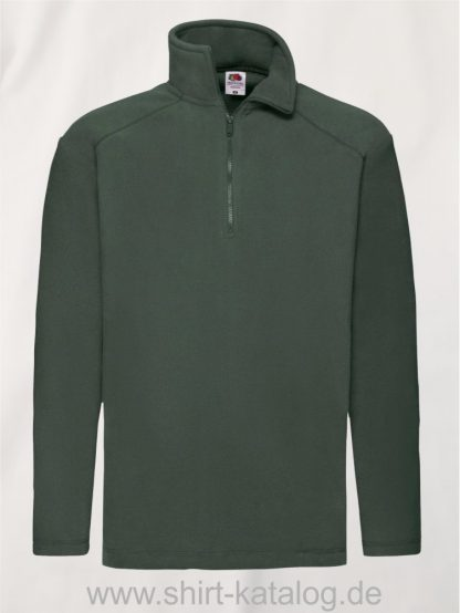 Half-Zip-Fleece-Bottle-Green