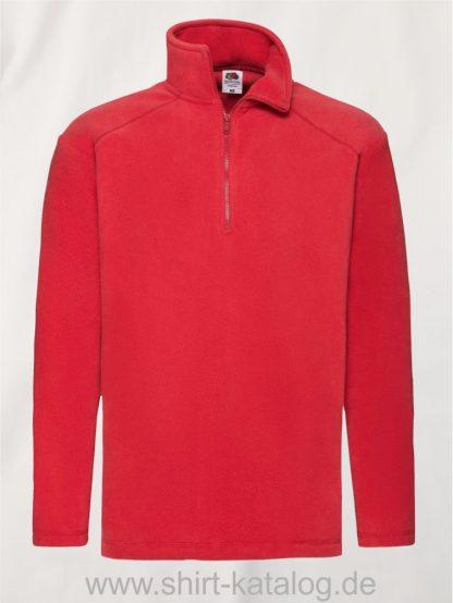 Half-Zip-Fleece-Red