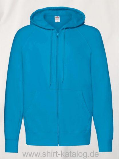 Lightweight-Hooded-Sweat-Jacket-Azure-Blue